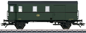 SNCB Type Pwgs 41 Freight Train Baggage Car, Era IIIa