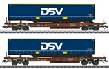 DSV Deep Well Flat Car Set
