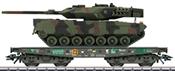 Type Rlmmps Heavy-Duty Flat Car w/Leo 2 Tank, Era V