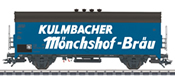 Marklin 48776 German Mönchshof Bräu Beer Car of the DB