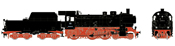 German Steam Locomotive cl 038.10-40 w/Tub-Style Tender of the DB (Sound Decoder)