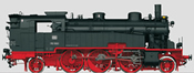 German Steam Locomotive BR 75.4 of the DB (Sound Decoder)