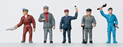 DB Railroad Workers Group of Figures, Era III