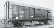 German Freight Car type G1 of the DRG