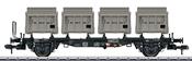 DB Type BTms 55 Container Transport Car, Era III