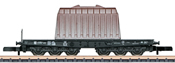 DB Type SSym 46 Heavy-Duty Flat Car w/Load of an Insulated Hood, Era III