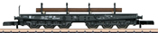 DB Type SSym 46 Heavy-Duty Flat Car w/Load of Round Shapes, Era III