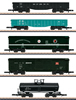 USA Car Set US Cars, various Railroads