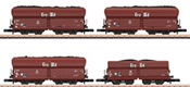 DB Coal Traffic Freight 4-Car Set, Era IIIa