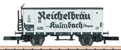 German Beer Car Reichelbräu of the DB