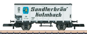 German Beer Car Sandlerbräu of the DB