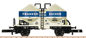 DB Frankenzucker Powdered Freight Silo Car, Era III