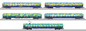 5pc Passenger Car Set