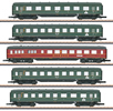 Express Train Skirted Passenger Car Set