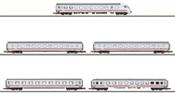 German 5pc Intercity Car Set of the DB AG