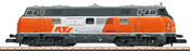 German Diesel Locomotive Class 221 RTS of the DB