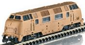 German Diesel Locomotive Class V 200 in Real Bronze of the DB