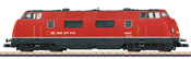 Swiss Diesel Hydraulic Locomotive cl Am 4/4 of the SBB