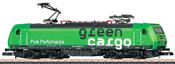 Swedish Electric Locomotive Re 14 Green Cargo of the SJ