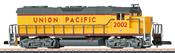 American Diesel Locomotive GB 38-2 of the UP
