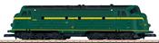 Belgian Diesel Locomotive Class 54 of the SNCB