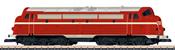 Hungarian Diesel Locomotive Class M61 of the MAV