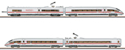 German ICE 3 406 MF High Speed Powered Rail Car Train of the DB AG