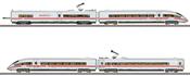 German ICE 3 406 MF High Speed Powered Rail Car Train of the DB AG