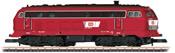 German Diesel Locomotive 218 of the DB
