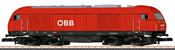 Austrian Diesel Locomotive Reihe 2016 of the ÖBB