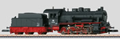 German Freight Locomotive with a Tender of the DB