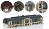 Hamburg Dammtor Station Building Kit Set