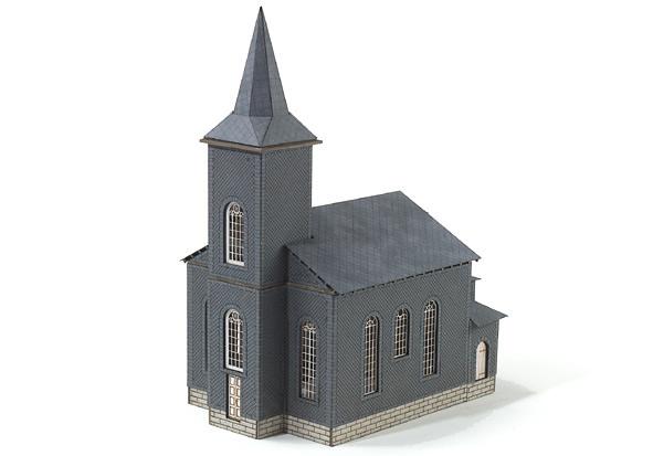 MBZ R10020 - Franconian - Thuringian Village Church