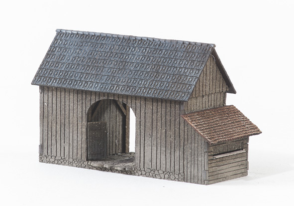MBZ R10069 - Gate House with Beehive Structure