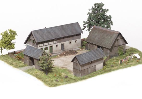 MBZ R10071 - 4 Piece Barn Set