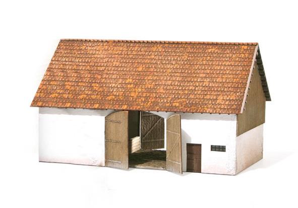MBZ R10179 - Barn w. Shed