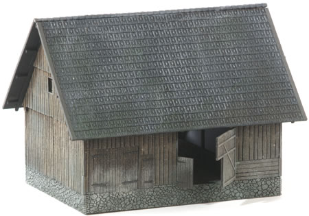 MBZ R12066 - Field Barn with Brick Roofing