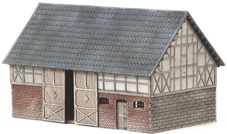 MBZ R18011 - Barn with Stalls
