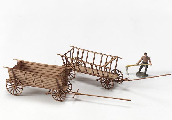 MBZ R80015 - Real Wood Cart