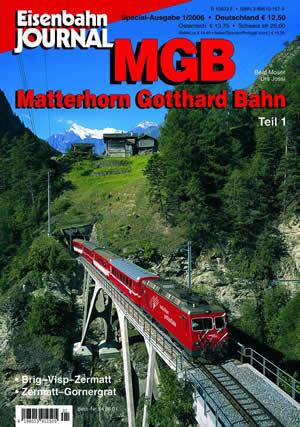 Merker 540601 - MGB Matterhorn Gotthard bahn Teil 1