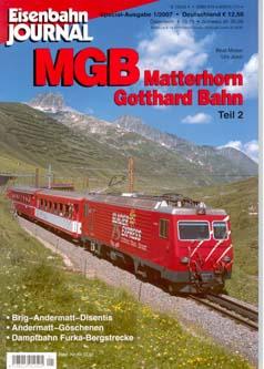Merker 540701 - MGB Matterhorn Gotthard Bahn Teil 2