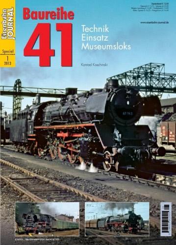 Merker 541301 - History of the German Mikado Locomotive Class BR 41
