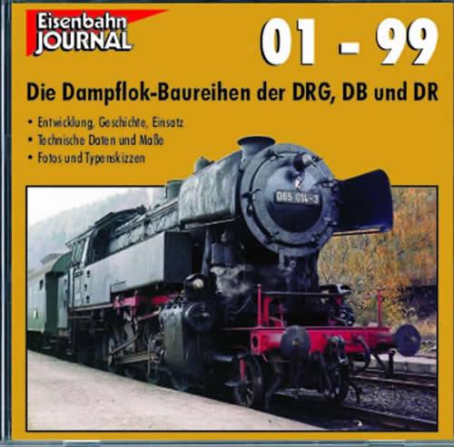 Merker 590403 - CD-Rom German Steam Locomotives from Class 01-99