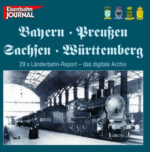 Merker 590602 - DVD Bayern, Preußen, Sachsen, Württemberg Report