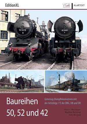 Merker 601802 - Book: Dampflokomotiven BR 50, 52 und 42