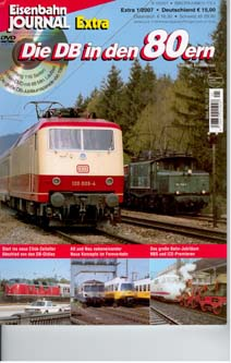 Merker 700701 - Die DB in den 80ern (with DVD)