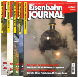 Merker Sub4 - 5 Older Eisenbahn Journals