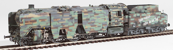 Micro Metakit 02206H - German Camoflaged  Steam Locomotive BR 01 of the DRG