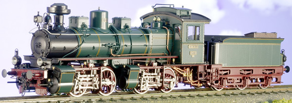 Micro Metakit 05402H - KSStEB Era I Saxonian Class IV Mallet Green/Black Red Brown Livery