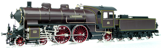 Micro Metakit 08101H - German Steam Locomotive P4 of the Royal Bavarian State Railway